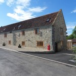 Front View Barn Conversion Works in South Somerset