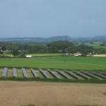 Field PV Array in South Somerset