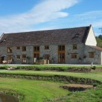 Rear View Barn Conversion Works in South Somerset