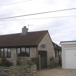 Front View before Extension Works in South Somerset